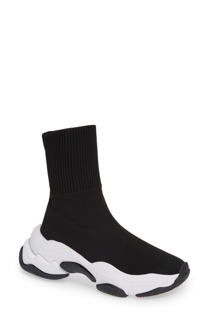 Tenko Ankle High Top Sock Sneaker