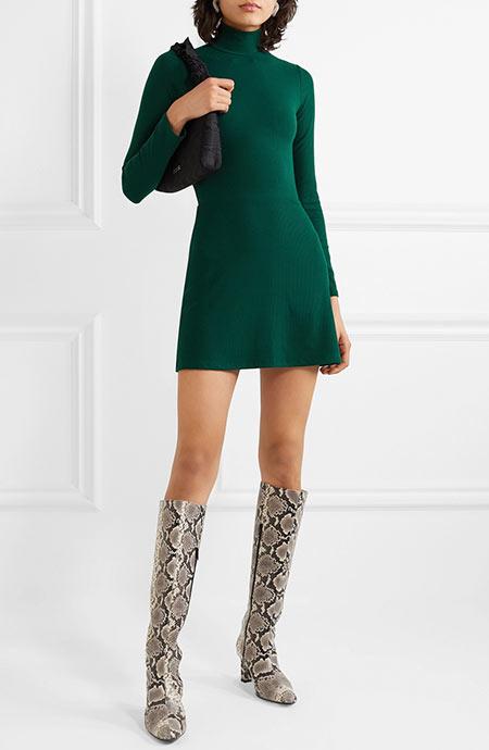 La robe pull Eco Rib