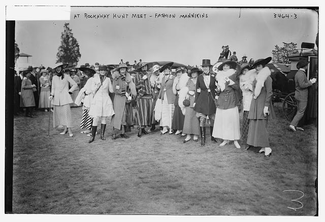 style vestimentaire femme 1910