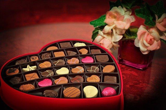 Offrir Chocolat Saint-Valentin